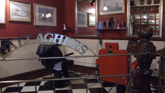 Gallaghers Pub & Barbers - Picture of Gallaghers Pub and Barbers ...