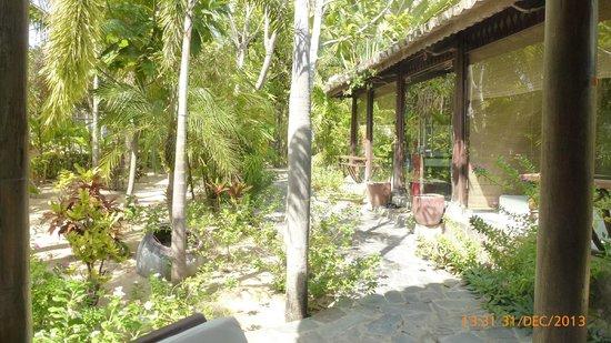Allezboo Beach Resort & Spa: Glass spa room
