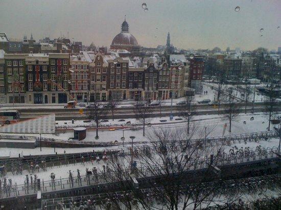 Ibis Amsterdam Centre: vista desde la habitación
