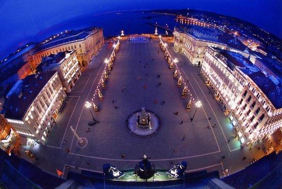 Istria: Trieste desde el cielo