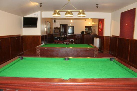 The Black Bull Inn: Pool & Darts Area