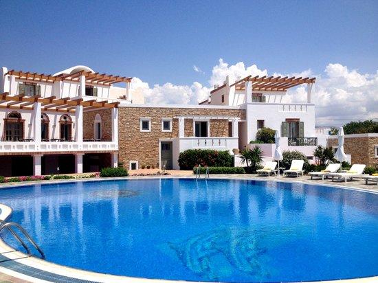 Porto Naxos Hotel: Pool