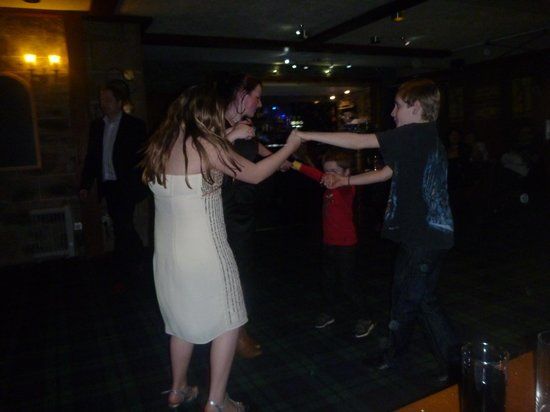 Letterfinlay Lodge Hotel: Ceilidh