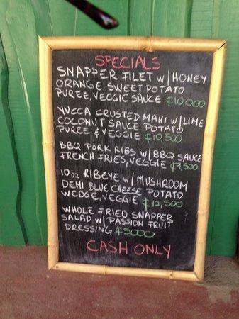 Campesino Bistro & Bar: #daily specials
