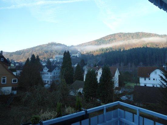 Hotel Sonnenhof garni: paysage vue du balcon de notre chambre