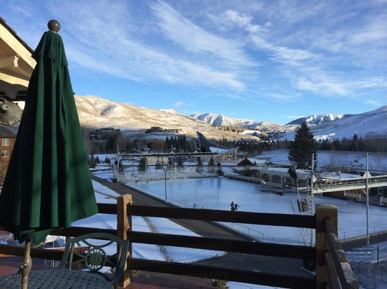 Sun Valley Lodge: Deck View