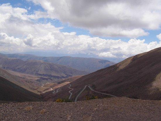 Salinas Grandes : Montanhas coloridas