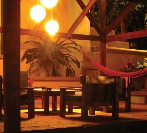 Hotel Nahua: Relaxing area