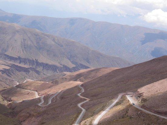 Salinas Grandes : Caminhos sinuosos