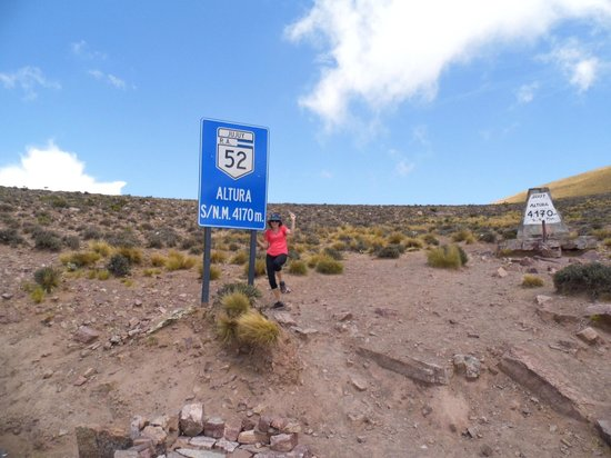 Salinas Grandes : Cheguei no topo