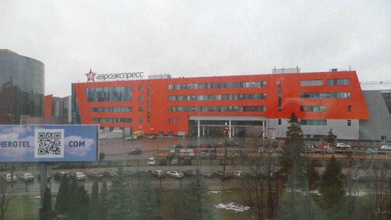 Hotel Novotel Moscow Sheremetyevo Airport: Вид из номера