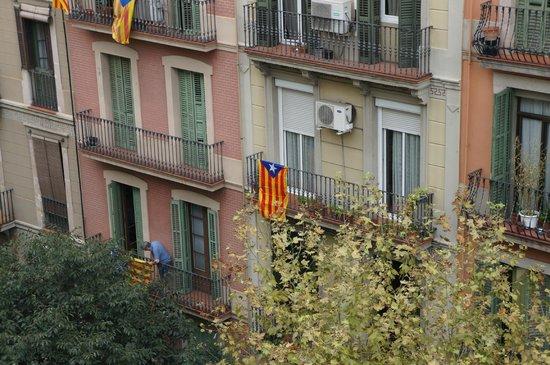 Ako Suite Hotel: в день независимости Каталонии