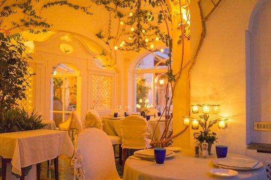 Le Sirenuse Hotel: Dinner