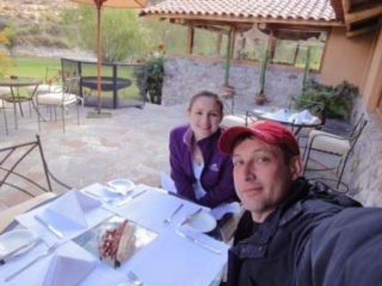 Belmond Hotel Rio Sagrado: Almoço Hotel Vale Sagrado