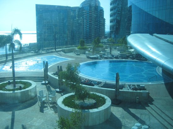 Jumeirah at Etihad Towers: studio - view from room