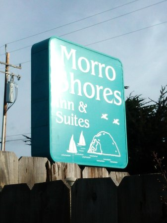 Morro Shores Inn & Suites: The sign of the Inn