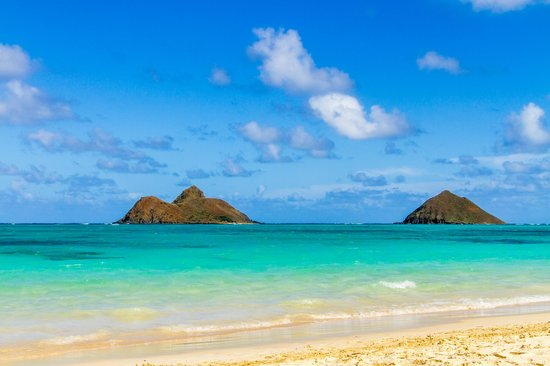 Lanikai Beach: Your view all day