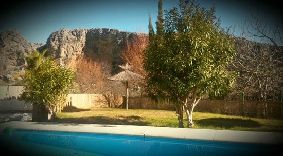Casitas de la Sierra: View from the pool