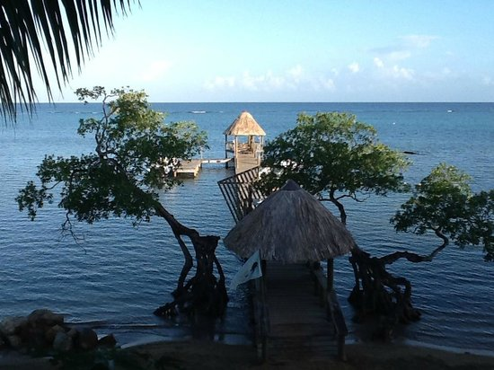 Tranquilseas Eco Lodge and Dive Center: Tranquilseas waterfront