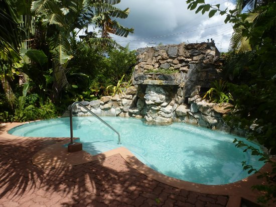 Kariwak Village Holistic Haven and Hotel: Small garden pool