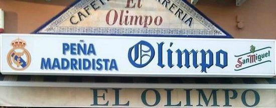 Bar Olimpo y Pena Madridista
