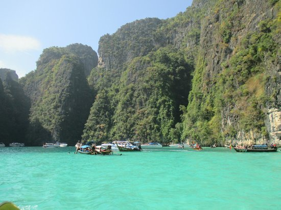 Phuket Sail Tours : view from the boat