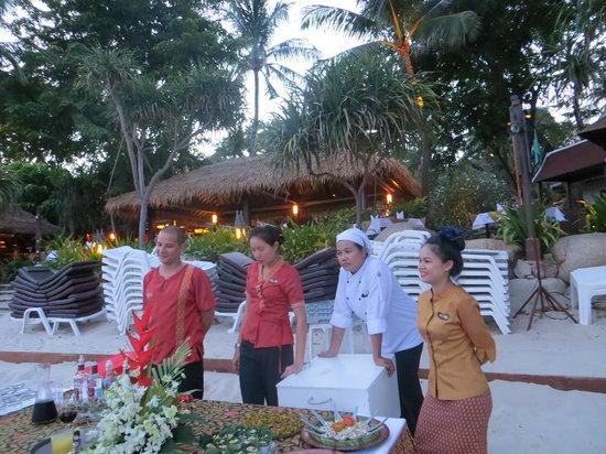 Poppies Samui : Welcome-Apero am Strand