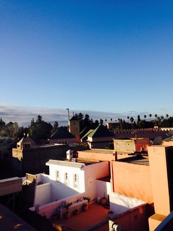 Riad Dar Beldia: View from the roof !