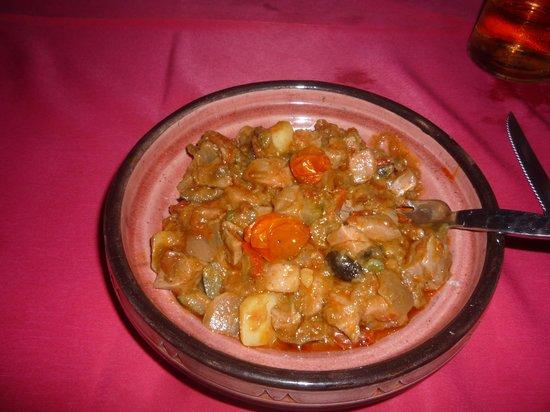 The Boudoir : Tajine de thon aux légumes et parfums d'ici et douceur du miel