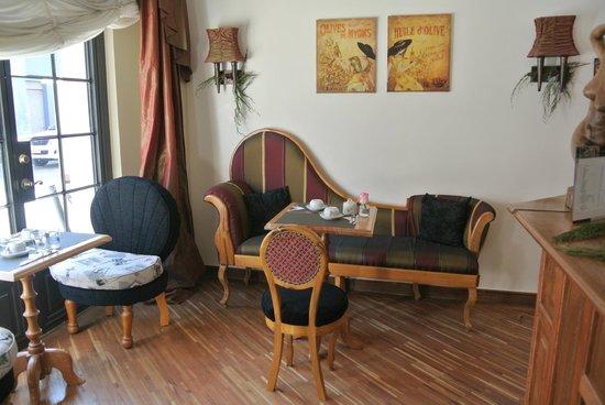 Casa Joaquin Boutique Hotel: ontbijt of aperitief