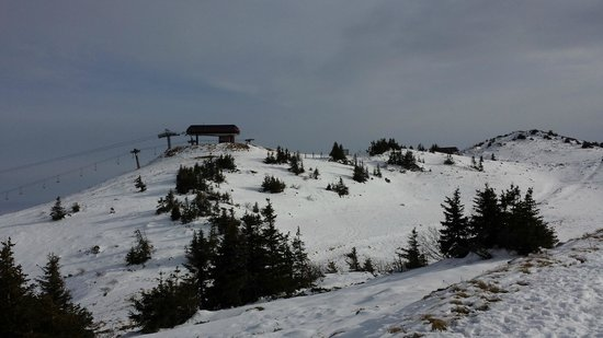 Jahorina, Bosnia and Herzegovina: Cable car ride