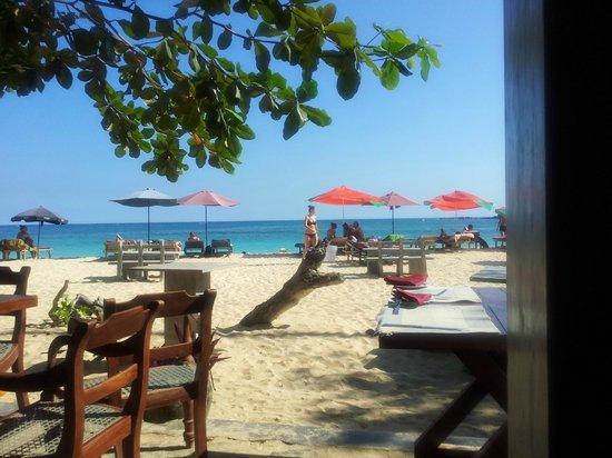 Cormaran Beach Club : View from inside Camaron Beach Club