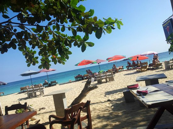 Cormaran Beach Club: View from inside Camaron Beach Club