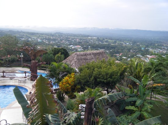 Cahal Pech Village Resort : From room 604, out across San Ignacio