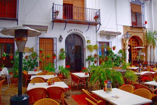 Los Patios: Il patio all'aperto