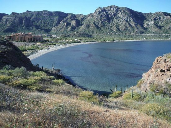 Villa del Palmar Beach Resort & Spa at The Islands of Loreto: A view from the point we hiked to - chrystal clear water!