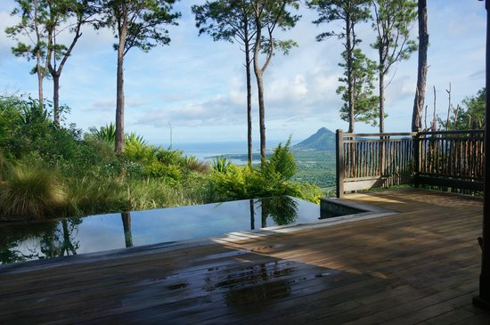 Lakaz Chamarel Exclusive Lodge: chambre tourelle tamarin