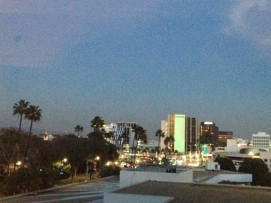 The Beverly Hilton: Vue de la suite