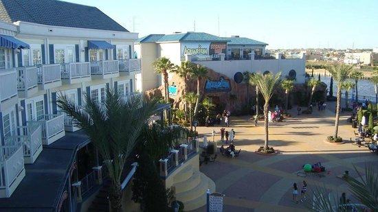 Boardwalk Inn: Balcony 420