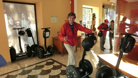 Palheiro Gardens : James, Segway Guide and Instructor