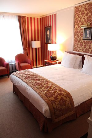 Hotel Dukes' Palace Bruges: Most comfortable bed ever