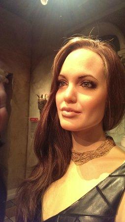 Madame Tussauds New York : Angelina, linda...