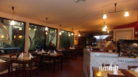 Ristorante La Lampara The Dining Room