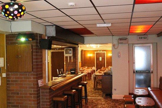 The Florida Hotel: bar area