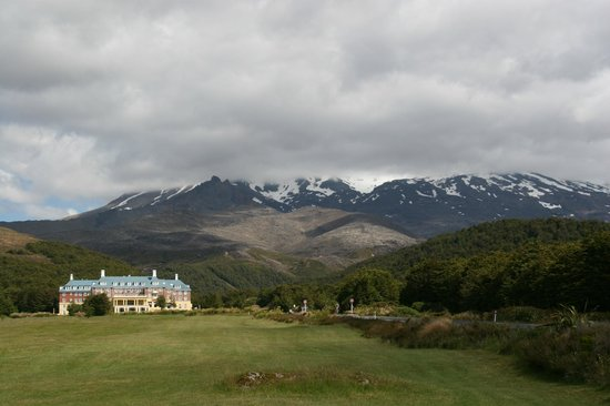 Chateau Tongariro Hotel : Sehr schöne Lage!