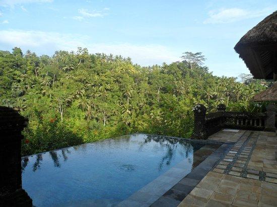 Puri Wulandari Boutique Resort: hill view