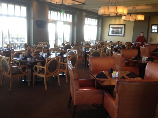 Medium image of atlantic grille at the club at hammock beach  dining room