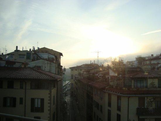 Pitti Palace al Ponte Vecchio : Panorama dalla sala colazione