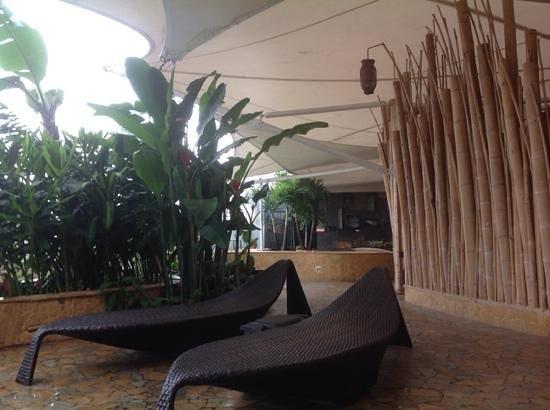 Diez Hotel Categoria Colombia : terraza