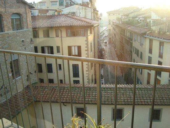 Pitti Palace al Ponte Vecchio: scorcio dal terrazzo